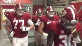 Alabama coming out of the tunnel