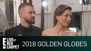 "Download Lagu Jessica Biel Talks Justin Timberlake's Help on ""The Sinner"" 