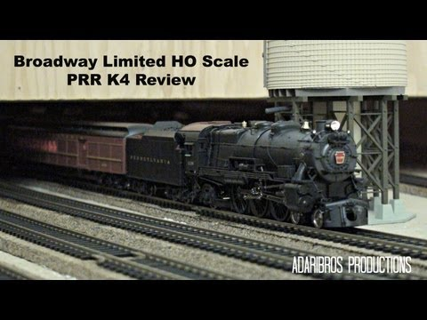 Review: Pennsylvania Railroad K4 in HO from BLI