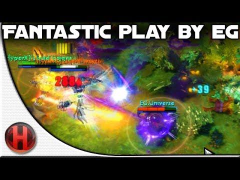 Dota 2 - Fantastic Play by EG vs. Team Liquid   SL9
