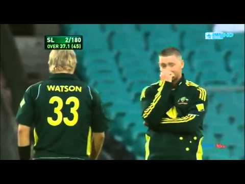 Michael Clarke v Shane Watson   Cricket Fight   YouTube