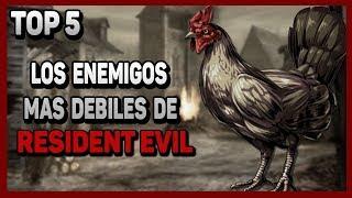 Top 5: Enemigos mas debiles de Resident Evil