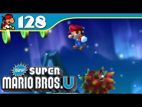 New Super Mario Bros. U - Prickly Goomba's Coinless Run - Coin Collection - Ep 128 - KoopaKungFu