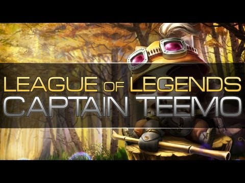 League of Legends - Captain Teemo! Late Game Annihilation (AP Teemo)