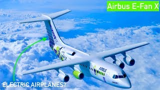 Airbus E-Fan X: Airbus Electric Plane?
