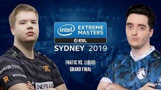 CS:GO - Fnatic vs. Liquid [Cache] Map 1 - Grand Final - IEM Sydney 2019