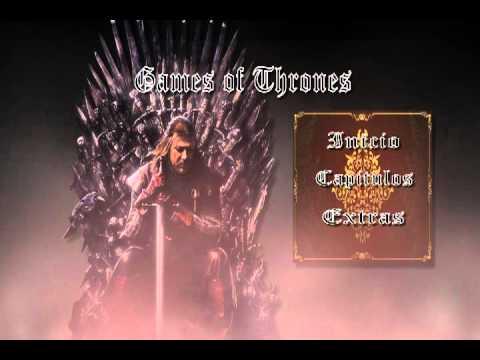 Menu Game of Thrones Game of Thrones Dvd Menu