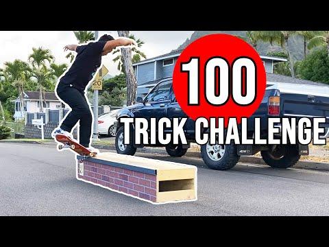100 LEDGE TRICK CHALLENGE