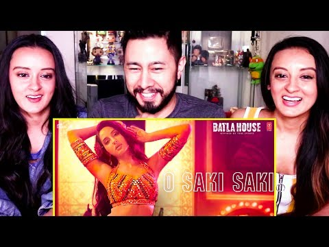Download Lagu  O SAKI SAKI | Batla House | Nora Fatehi | Tanishk B | Neha K | Tulsi K |   Reaction! Mp3 Free