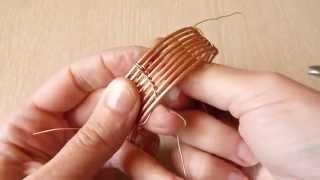 Wire weaving - bracelet