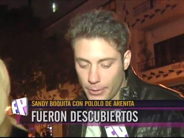 Sandy Boquita - Con Pololo de Arenita fueron Descubiertos