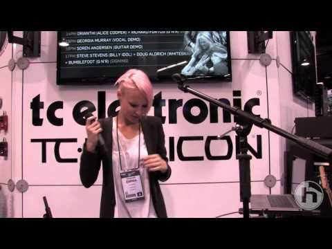 VoiceLive 2 performance: Emma Hewitt (NAMM 2013)