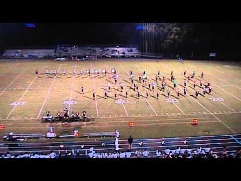 Eustis High School Panther Band Half Time Show - 8/30/13 - Hitachi DVDHDD