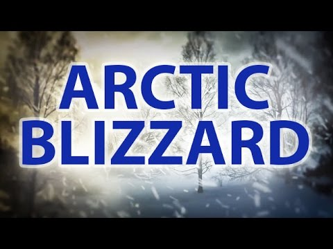 ARCTIC BLIZZARD | Storm White Noise For Relaxation & Sleep |