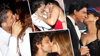 Best Bollywood Kisses - Top 10 Bollywood Kisses Hotlist - Hot kissing scenes of Shahrukh Khan & More !