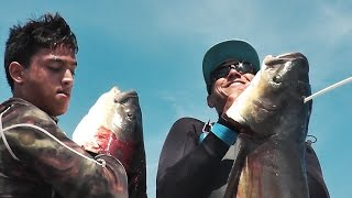 Bowfishing for Cobia HEADSHOT! - Cleaning and Cooking!