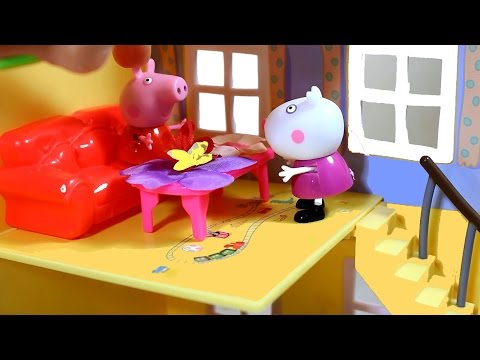 """Набор для Детского творчества """"Куклы из лепестков"""" Играем с игрушками из мультика свинка пепа"""