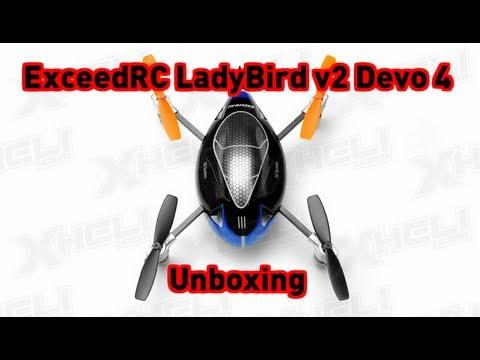 ExceedRC LadyBird v2 Devo 4 Unboxing