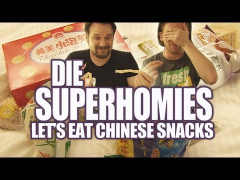 Die Superhomies in Taiwan - Let's Eat Chinese Snacks (mit Gronkh und Sarazar) Music Videos