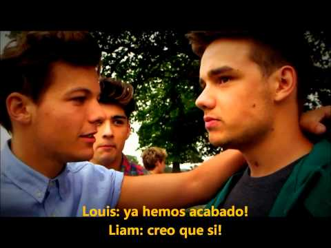 One Direction Live While We're Young (behind The Scenes) [subtitulado Español] video
