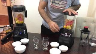 Vitamix 780 VS Blendtec 675 Design