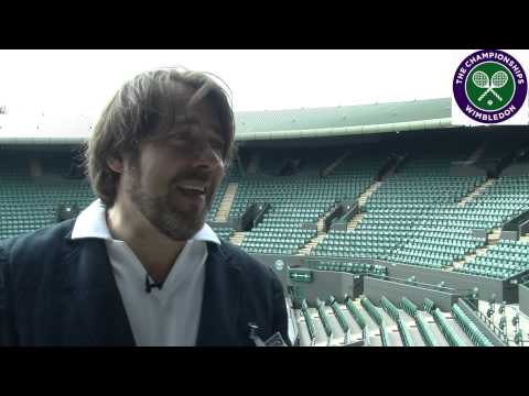 TV star Jonathan Ross talks Wimbledon, Roger Federer & playing tennis