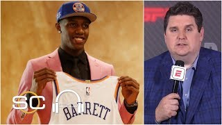 Knicks think RJ Barrett will be a star player in the NBA – Brian Windhorst | SC with SVP