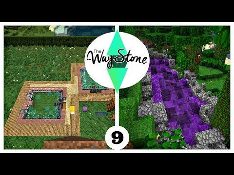 FLOWER FARMS & STARTING A COOL RAVINE BUILD: Waystone Season III SMP  (Ep. 9)
