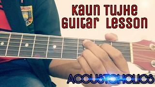 download lagu How To Easily Play Kaun Tujhe - Ms Dhoni gratis