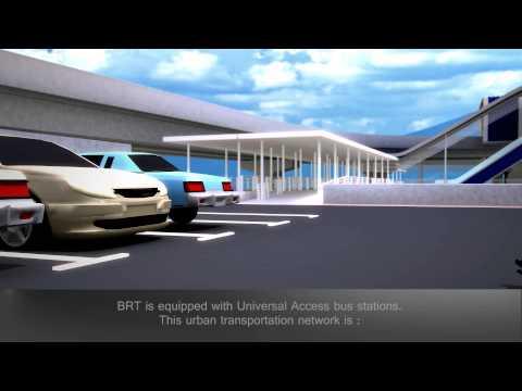 Elevated Bus Rapid Transit (BRT) – Sunway Line (2014)