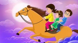 Lakdi Ki Kathi Kathi Pe Ghoda Song (लकड़ी की काठी) | Cover by FunForKidsTV