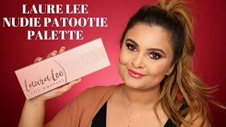 LAURA LEE LOS ANGELES NUDIE PATOOTIE PALETTE REVIEW & SWATCHES