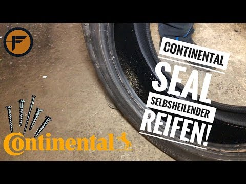 Continental SEAL Reifen | SELBSTHEILENDER REIFEN TEST! | Fahrzeugtechnik Gackstatter