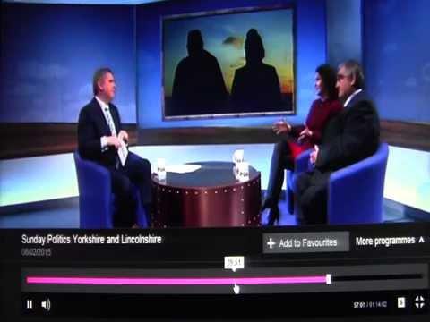 Sunday politics yorkshire Rotherham child sex abuse scandal