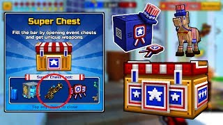 Opening 80+ New Event Chests - Pixel Gun 3D