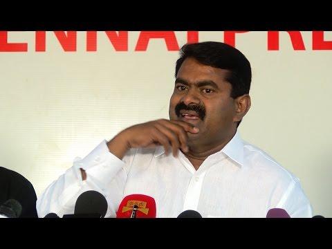 Ban On Jallikattu - Naam Tamilar seeman Takes On Actress Amy Jackson Actress Nagma and  Vidya Balan
