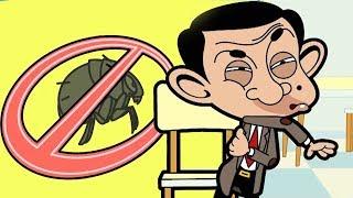 Bean Has Fleas   Funny Clips   Mr Bean Cartoon World