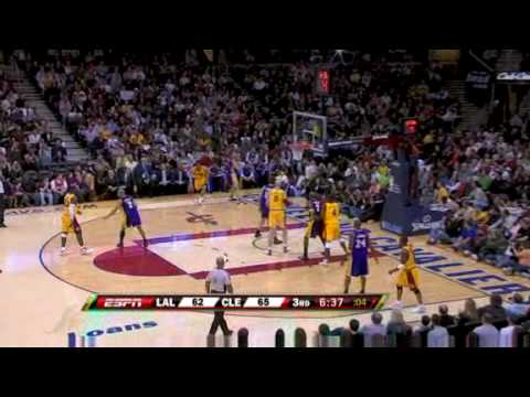 Los Angeles Lakers vs Cleveland Cavaliers ( Lakers end Cavs' 23-0 Home Streak ) 02/08/09 [HQ]
