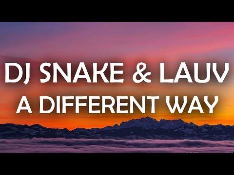 DJ Snake, Lauv  A Different Way Lyrics  Lyric