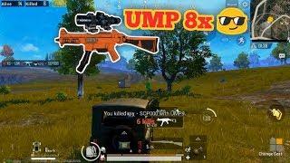 PUBG Mobile - Thử Bug Scope 8x Gắn Vào UMP9 :D   Skill Vừa Đi Xe Vừa Bắn