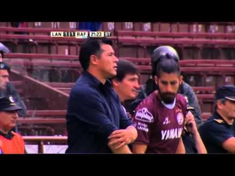 Lanús le ganó a Atlético Rafaela y se alejó en la cima de la zona 2