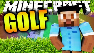 EPIC THROWS! - Minecraft ENDER GOLF with The Pack
