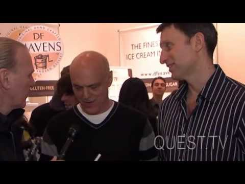 QUEST.TV- NYC Vegetarian Food Festival 2013 - DF Maven - Vegan Ice cream