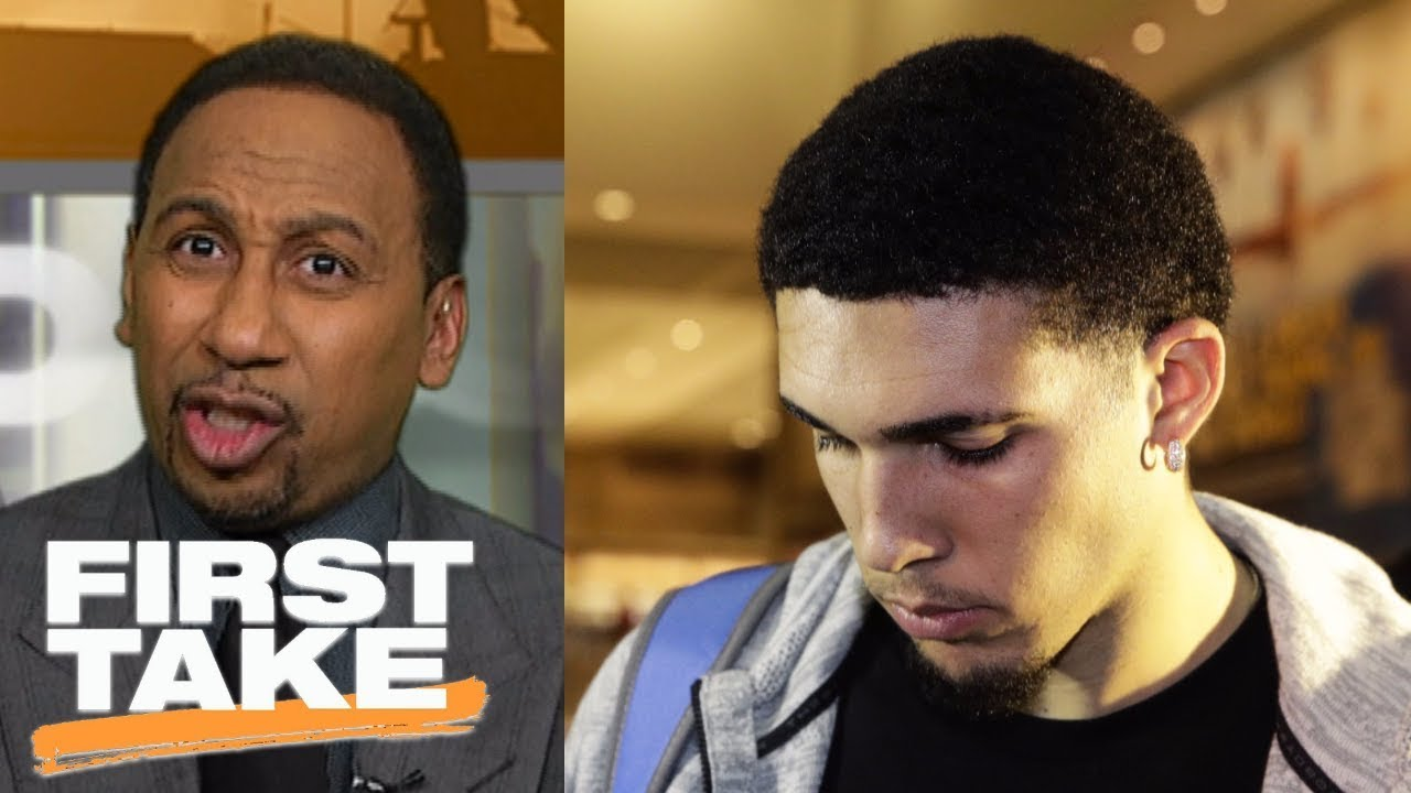 Stephen A. Smith calls for LiAngelo Ball and UCLA players to be suspended | First Take | ESPN