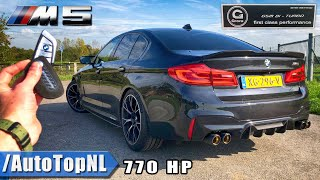 G POWER BMW M5 F90 770HP | REVIEW on ROAD & AUTOBAHN (NO SPEED LIMIT) by AutoTopNL
