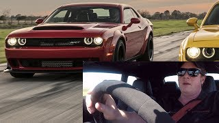 2018 Dodge Demon Test Drive with John Hennessey