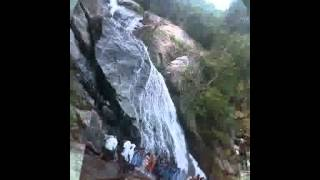 Waterfalls near Valparai : Tamil Nadu - destinationinfinity.org