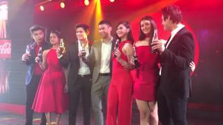 Coke ambassadors: BaiLona, James Reid, Enchong Dee, Janella and LizQuen