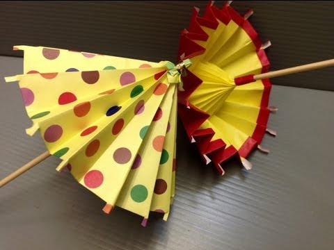 Daily Origami: 183 - Umbrella