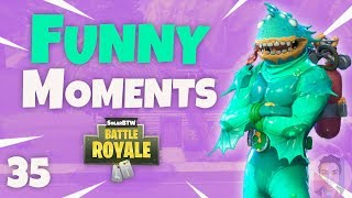 KILLING 3 TEAMMATES FOR THE VICTORY ROYALE KILL! - Fortnite Funny Fails and WTF Moments! #35